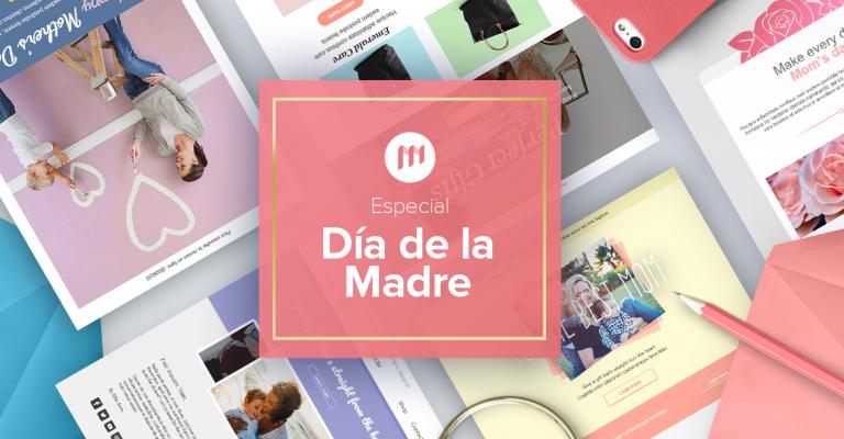 Newsletter: nuevas plantillas de email para el Día de la Madre