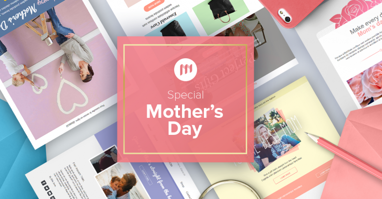 Email templates for Mother's Day