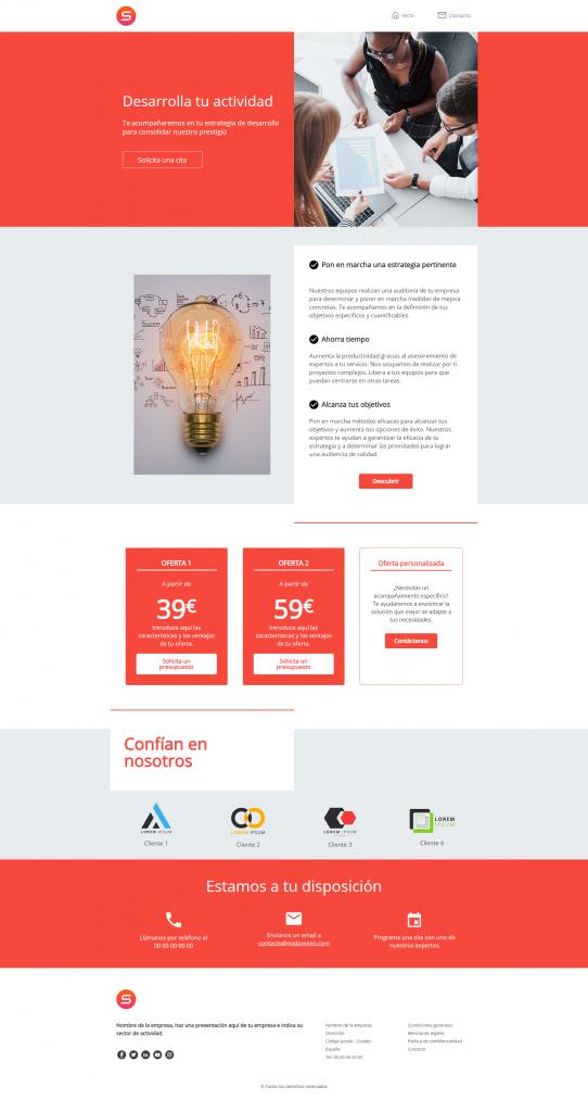 smart templates BtoB