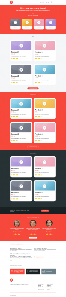 smart templates e-comerce