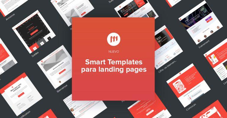 Nuevo: Smart Templates para páginas web